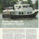 2010 Kadey- Krogen 55' Expedition Cruiser Yacht Review & Specs- Photos