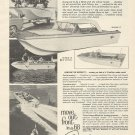 1968 Crestliner Boats Ad- The Muskie 17' & 15'