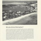 1970 Chubb & Son Insurance Ad-Great aerial Photo Of Hopetown Abacos