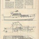 1967 C Raymond Hunt 42' Sportfisherman Yacht Review & Specs-Syntonic