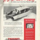1948 Truscott 32 Yacht Featured in Texaco Marine Products Ad