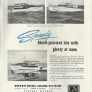 1948 Consolidated Yachts Featured in Detroit- GM Diesel Marine Engines Ad