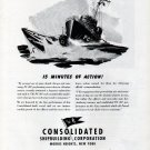 1943 WW II Consolidated Shipbuilding Corp Ad- PC 487 War Boat