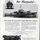 1942 WW II Copper- Bessemer Corp Ad- Navy PYc37