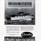 1941 Chrysler Marine Engines Ad