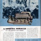 1943 WW II Sterling Engine Co. Color Ad- U S Navy Motor Torpedo Boat