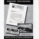 1942 WW II U S Plywood Corp. Ad- Luders War Boats