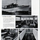 "Frederick Geiger yacht Ad- The 45' ""Serenade""- Nice Photos"