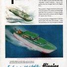 1945 Higgins Boats Color Ad- The Higgins P-T Junior 30'