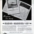 "1945 Harbor Boat Building Co Ad- Harco Cruiser ""40"""