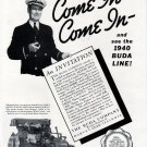 1940 Buda Marine Engine Company Ad- The Buda- Lanov
