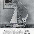 "1940 Du Pont Dulux Marine Finishes Ad- Nevins Yacht ""Blitzen"""
