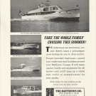 1951 Matthews Yacht Company Ad- The 40' Cruiser