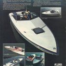 1981 Bayliner Marine Corp Color Ad- Cobra- Mutiny- Eagle- Force