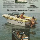1981 Cruisers Boats Color Ad- Baron SX & Holiday/ 25- Hot Girl