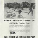 1944 WW II Hall- Scott Motor Car Co Ad-Landing Boats- Troops