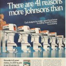1977 Johnson Outboards 2 Page Color Ad- 12 Models- Very Hot girl