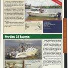 2005 Pro- Line 32 & Farallon 3200 New Boats Reviews & Specs- Photos