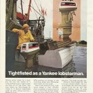 1974 Johnson Outboards Color Ad- The 50 HP Outboard Motor-Lobsterman