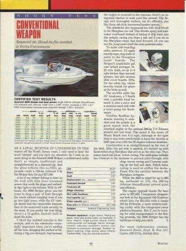 1994 Seaswirl Boats Seaswirl 26 Review & Specs- Photo