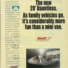 1995 Boston Whaler Boats Color Ad- The 20' Dauntless