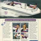 1995 Godfrey Marine Color Ad- The Hurricane 216 Fundeck- Hot Girl