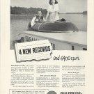 """1950 Gulfpride- Marine Ad- Hydroplane """"Sagana""""- Frank Foulke"""