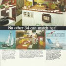 1975 Columbia Yacht Corp. Color Ad- The Columbia 34