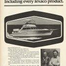 1980 Texaco Marine Ad Featuring Viking 43 Yacht- Bob & Bill Healey