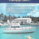 1972 Gulfstar Yachts Inc Color Ad- The 43' Trawler Yacht