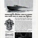 1941 WW II Kermath Marine Engines Ad- Miami Shipbuilding 63' Aircraft Rescue Boat