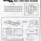 1950 How To Make A Move- About Duckblind- Duck Hunting Boat Article & Diagrams