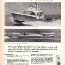 1964 Champion Spark Plugs Ad- Daytona 37 Sets APBA Record