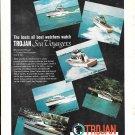 1969 Trojan Boat Company Color Ad- The Trojan 42'- 36- 38- 36- 28- 31'