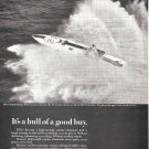 """1968 Marine Aluminum Ad- Cigarette Boat """"Big Broad Jumper"""""""