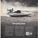 "1971 Champion Spark Plugs Ad- Hydroplane ""Miss Budweiser"" Nice Photo"
