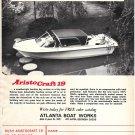 1971 Atlanta Boat Works Ad- The AristoCraft 19