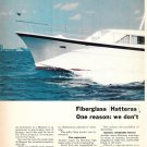 1971 Hatteras Yacht 2 Page Color Ad- The 58' Triple Cabin