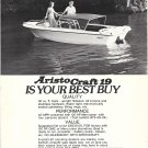 1977 AristoCraft Boat Corp. Ad- The AristoCraft 19'