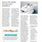 1996 Sea Ray 240 Sundancer Boat Review & Specs- Photo