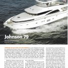 2009 Johnson 79' Yacht Review & Specs- Photos