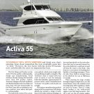 2009 Activa 55 Yacht Review & Specs- Photos