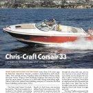 2010 Chris- Craft Corsiar 33 Boat Review & Specs- Photos