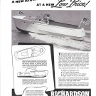 1947 Richardson Boat Company Ad- The 25' Express Cruiser
