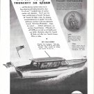 1945 Truscott Boat & Dock Co Ad- The 38 Sedan