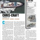 2012 Chris- Craft Launch 32 Review & Specs- Photo