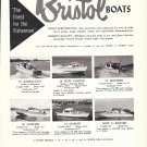1959 Bristol boats Ad- 6 Models