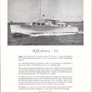1954 Huckins Yacht Corp Ad- The Offshore 52