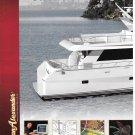 2002 Ocean Alexander Series 70 Yacht 2 Page Color Ad