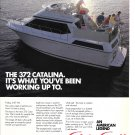 1987 Chris- Craft Boats Color Ad- The 372 Catalina